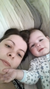 Mummy and William selfie x