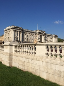 William visiting the Queen